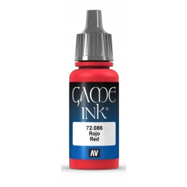 Game Ink Rojo 17ml VALLEJO