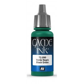 Game Ink Verde Negro 17ml VALLEJO
