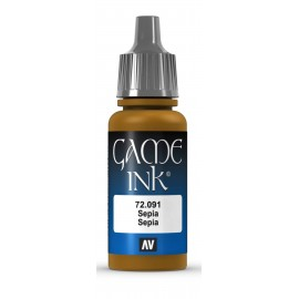 Game Ink Sepia 17ml VALLEJO
