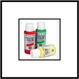 Textile Color Blanco 60ml Vallejo
