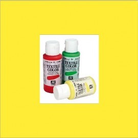 Textile Color Amarillo Limón 60ml Vallejo
