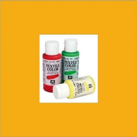 Textile Color Amarillo Dorado 60ml Vallejo