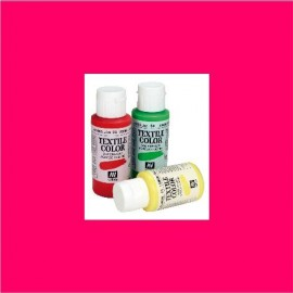 Textile Color Rojo 60ml Vallejo