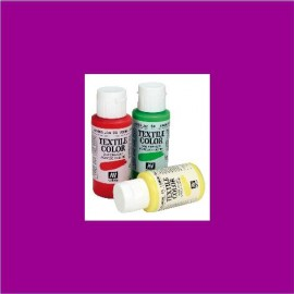 Textile Color Burdeos 60ml Vallejo