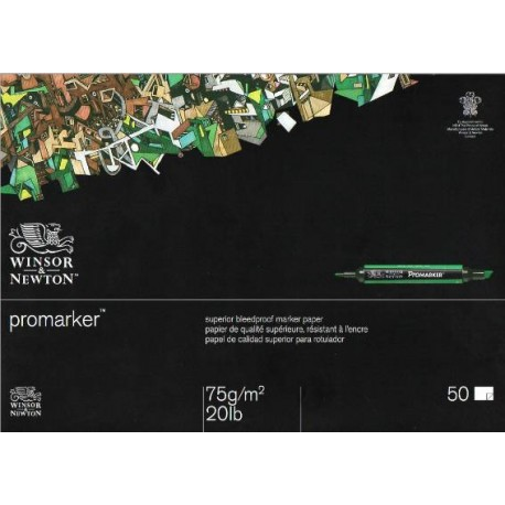 Bloc Promarker 75g 50Hojas A3