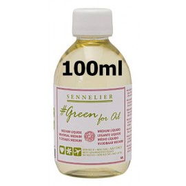 Medium Líquido 100ml Green For Oil Sennelier