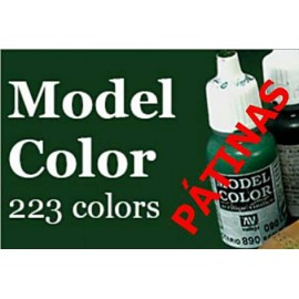 Model Color PÁTINAS 17ml Vallejo