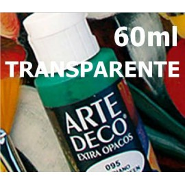 Arte Deco TRANSPARENTE  60ml Vallejo