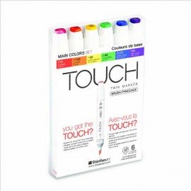 Set 6 Touch Twin Brush Básico