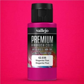 Premium RC-Color Magenta Fluo 60ml Vallejo