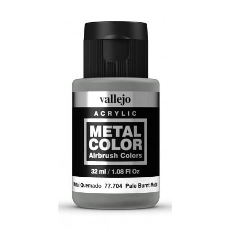 Metal Color Metal Quemado 32ml VALLEJO