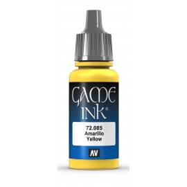 Game Ink Amarillo 17ml VALLEJO