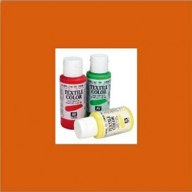 Textile Color Naranja Vivo 60ml Vallejo