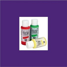 Textile Color Violeta de Parma 60ml Vallejo