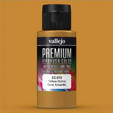 Premium RC-Color Ocre Amarillo 60ml Vallejo