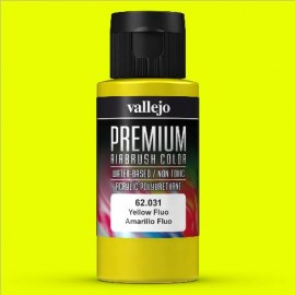 Premium RC-Color Amarillo Fluo 60ml Vallejo