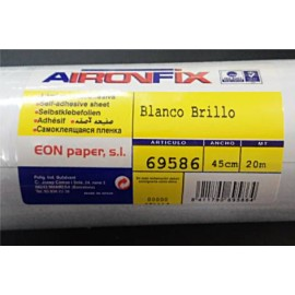 AironFix Blanco Brillo 45cmtx1Mt