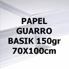 Papel BASIK 150g 70x100 GUARRO