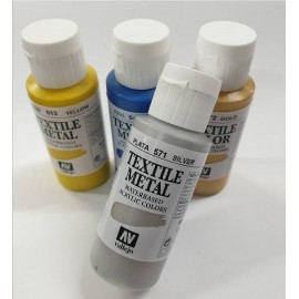 Textile Color Metal/Fluor 60ml Vallejo