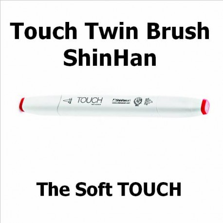 Rotulador Touch Twin Brush